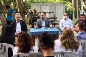 AK Parti İl Yönetim Kurulu İlk Toplantısını Şarköy'ün Kirazlı Mahallesinde Yaptı
