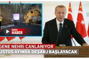"""Cumhurbaşkanı Erdoğan: """"Avrupa'nın En Büyük Çevre Projelerinden Biri"""""""