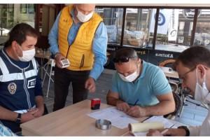 Edirne'de koronavirüse karşı 4 bin 559 denetim yapıldı