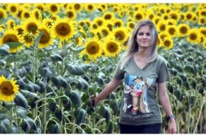 Trakyalı çiftçi, yağışların beslediği ayçiçeğinden umutlu
