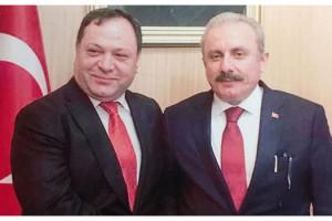 Ünal Peynircilik Yönetim Kurulu Başkanı Adnan Sungur'dan TBMM Başkan adayı seçilen Mustafa Şentop'a tebrik mesajı