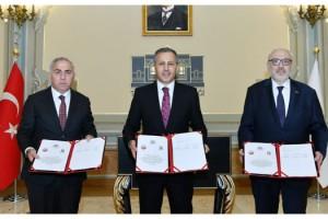 Vali Yerlikaya, Kapalıçarşı restorasyon protokolü imzaladı