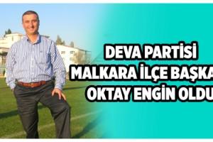Deva Partisi Malkara İlçe Başkanı Oktay Egin Oldu