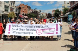 Edirne Kadın Platformu: İstanbul Sözleşmesi'ne karşı çıkmak tüm kadınlara tehdittir