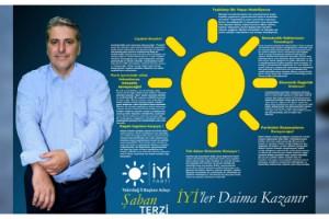 İYİ Parti İl Başkan Adayı Şaban Terzi Seçim Manifestosunu Açıkladı