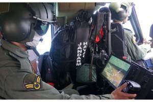Jandarmadan helikopter destekli sahil denetimi