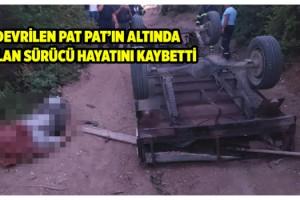 Malkara'da kullandığı tarım aracı devrilen çiftçi öldü