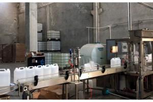 Tekirdağ'da 41 ton kaçak etil alkol ele geçirildi