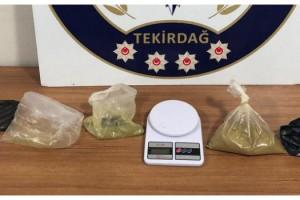 Tekirdağ'da uyuşturucu operasyonlar: 9 gözaltı