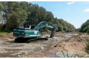 Tunca Nehri'nde artan su seviyesi, üreticiyi sevindirdi
