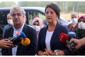 HDP'li Buldan ile Sancar, Edirne'de Demirtaş'ı ziyaret etti