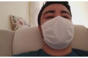 Koronavirüse yakalanan babanın en duygusal anları