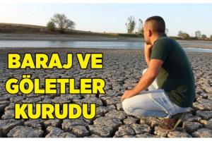 Kuraklığın vurduğu Edirne'de, son 91 yılın en yağışsız dönemi yaşanıyor