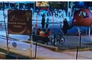 Tekirdağ'da parkta 11 yaşındaki çocuğun dövülme anları kamerada