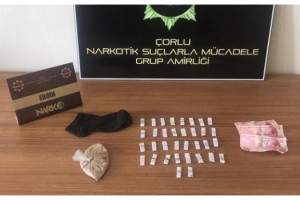 Tekirdağ'da uyuşturucu operasyonu: 3 gözaltı