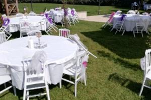 Üç alan açık hava düğünleri için yeniden düzenlendi