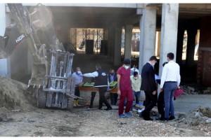 Malkara'da devrilen forkliftin altında kalan işçi öldü