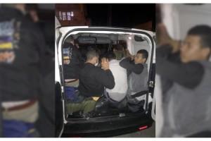 Tekirdağ'da, hafif ticari araçta 15 kaçak göçmen yakalandı