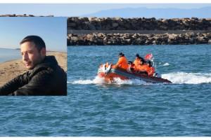 Enez'de batan teknede kaybolan 1 kişinin cesedi bulundu