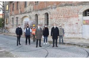 Kırklareli'de tarihi bina restore ediliyor