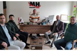 Deva Partisi Tekirdağ İl Teşkilatından Trakya Medya'ya Ziyaret
