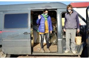 Fransız çift, Türk misafirperverliğine hayran kaldı