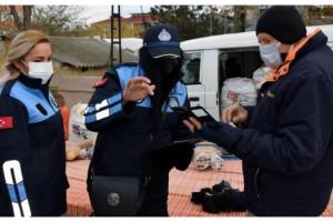 Süleymanpaşa Belediyesi'nden semt pazarlarında HES kontrolü