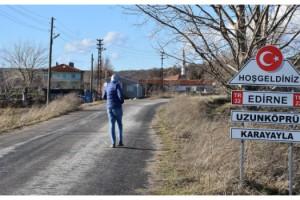 Edirne'nin Karayayla köyünde, pandemi döneminde koronavirüs görülmedi