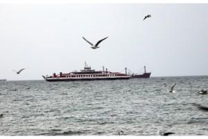 Tekirdağ'da fırtına; eğitim uçuşları iptal edildi, feribot seferleri aksadı