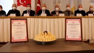 Edirne'nin tarihi lezzeti 'badem ezmesi' coğrafi işaret aldı