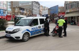 Keşan'da polis denetimlerinde 54 kişiye 147 bin lira ceza