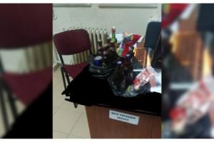 Kısıtlamada evlere alkollü içecek servisi yapan market çalışanına ceza