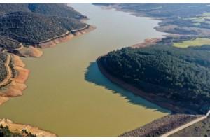 Keşan'a su sağlayan Kadıköy Barajı'nda doluluk oranı yüzde 18'e ulaştı