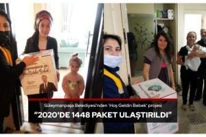 Süleymanpaşa Belediyesi'nden 'Hoş Geldin Bebek' projesi