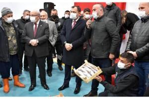 Tekirdağ Su Ürünleri Toptancı Hali, törenle açıldı