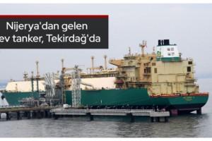 Nijerya'dan gelen dev tanker, Tekirdağ'da