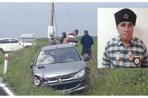 Otomobilin çarptığı motosikletin sürücüsü Kıbrıs gazisi, hayatını kaybetti