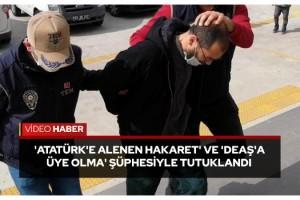Tekirdağ'da Atatürk heykeline saldıran şüpheli tutuklandı