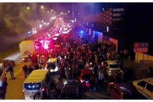 İstanbul'da şampiyonluk kutlamaları