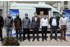 Malkara OSB'den İhtiyaç Sahiplerine 500 Gıda Kolisi