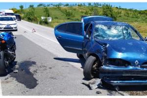 Malkara-Şarköy Yolunda Kaza; 2 Yaralı