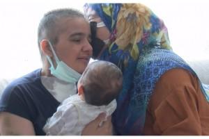 Anne, kızı ve torununun 'mucize' buluşması