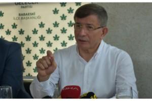 Davutoğlu: Seçimlere en iddialı şekilde gireceğiz