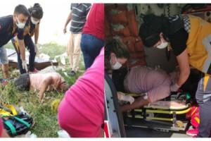 Hava almak isterken, pencereden düşüp ağır yaralandı