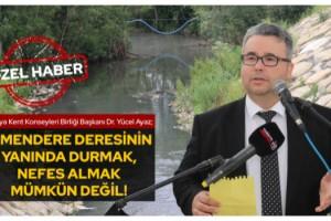 """Trakya Kent Konseyleri Birliği Başkanı Dr. Yücel Ayaz, """"Marmara Denizini Fosseptiğe Çevirdiler"""""""