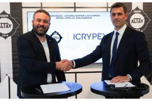 Altay ile kripto para borsası arasında sponsorluk anlaşması imzalandı