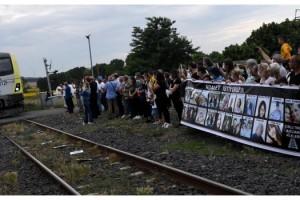 Çorlu'da tren kazasında ölen 25 kişi anıldı