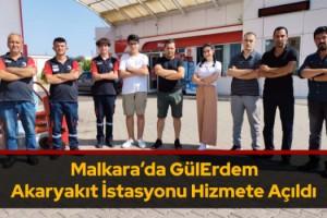 Malkara'da GülErdem Akaryakıt İstasyonu Hizmete Açıldı