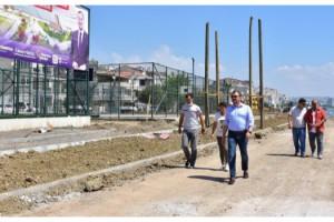 Süleymanpaşa'nın Altınova sahili yeni görünümüne kavuşuyor