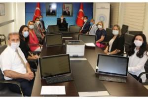 TBMM Başkanlığı'ndan Tekirdağ'daki okullara bilgisayar desteği